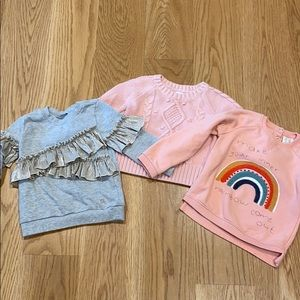 Bundle of 3T sweaters